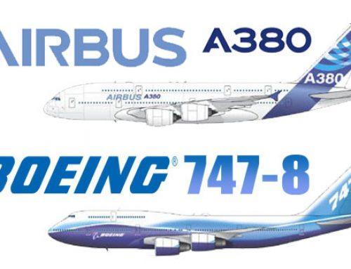 """Airbus A380 y Boeing 747-8 ¿vencidos por la """"Metodología LEAN?"""
