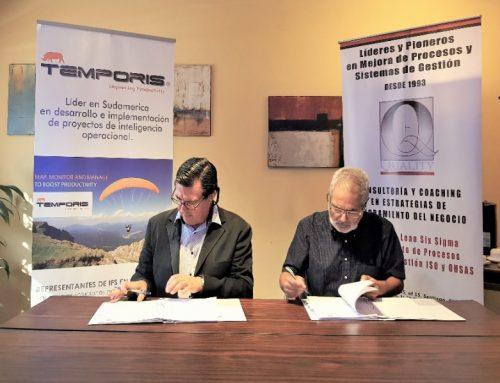 Temporis firma Alianza Estratégica con Quality